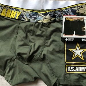 Boxer brief U.S Army mens new size S waist 28-30